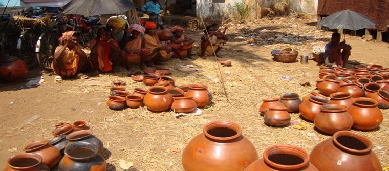 Weekly market of Desia kondh